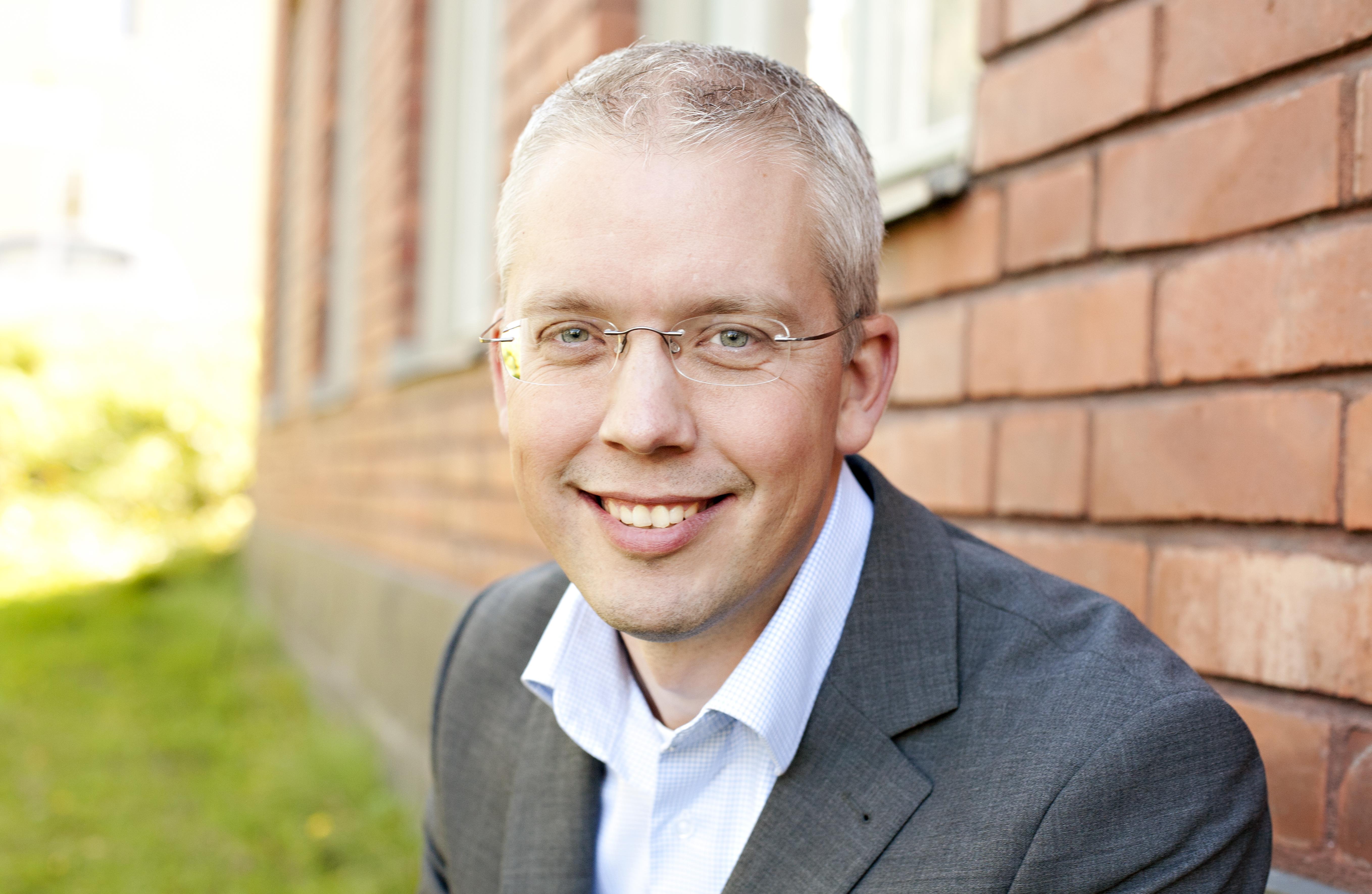 Peder Hansson, VD Terminalen
