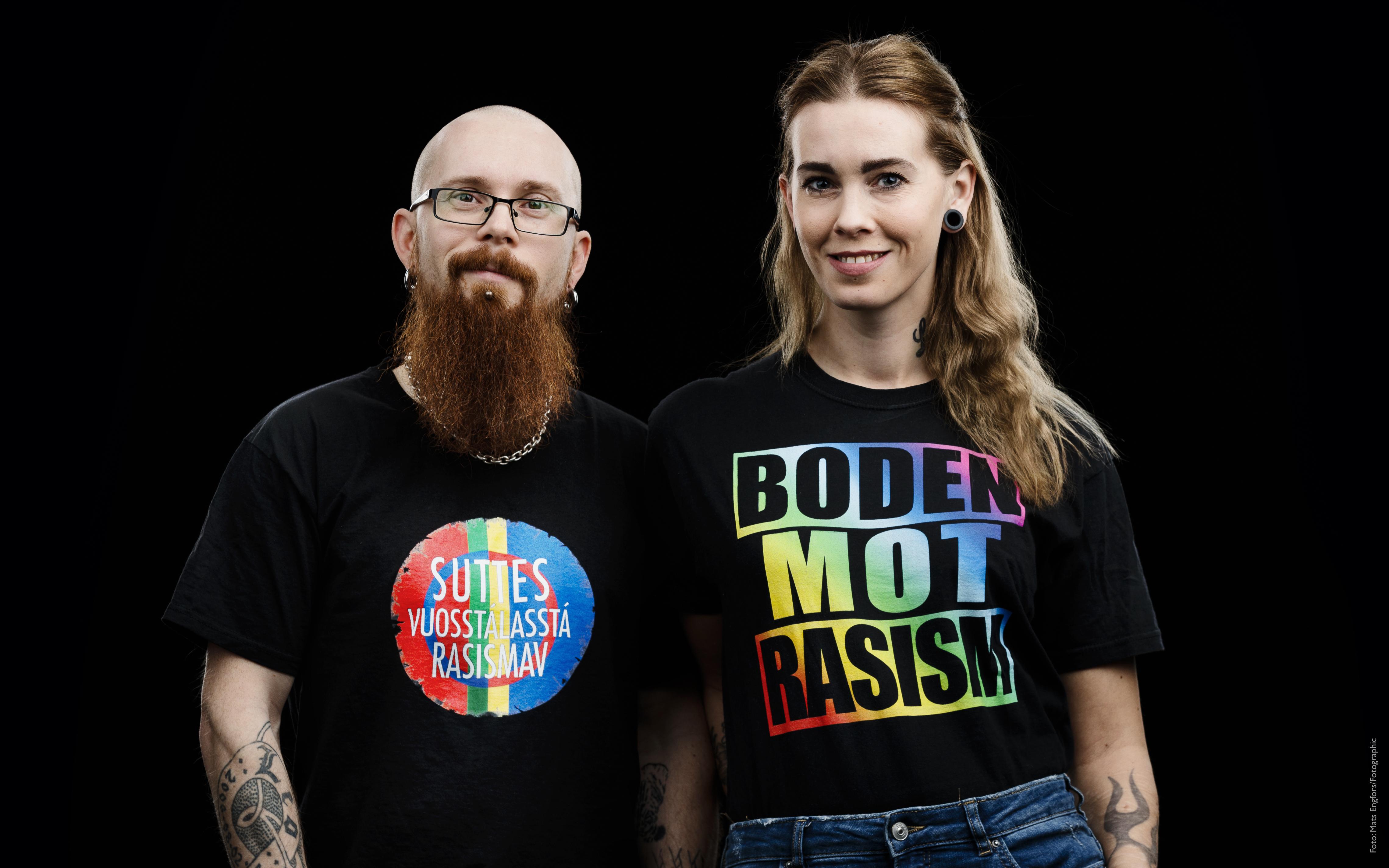 Raymond Stokki och Martina Grenholm, nominerad till Årets Bodensare 2018