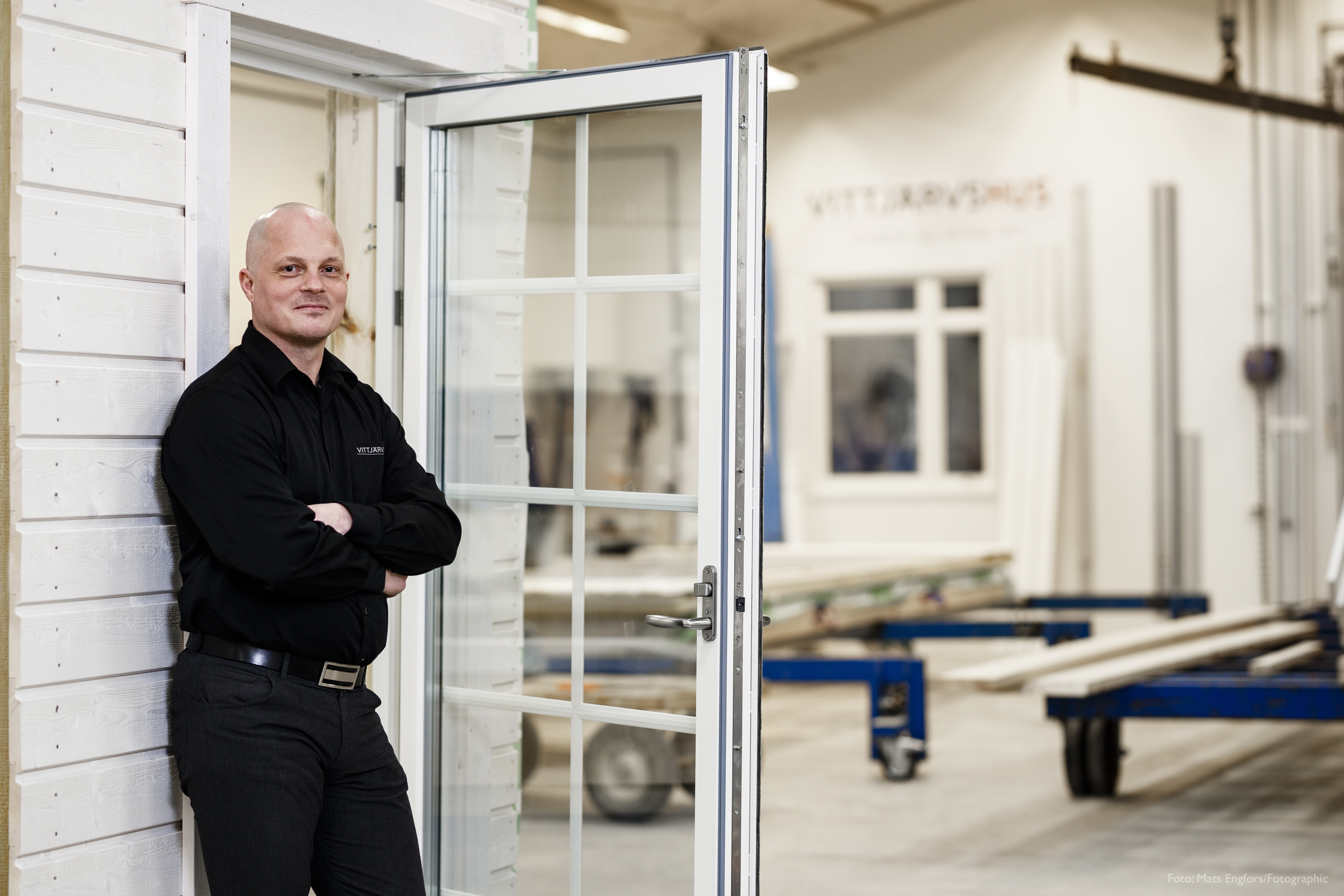 Rickard Eriksson, Vittjärvshus